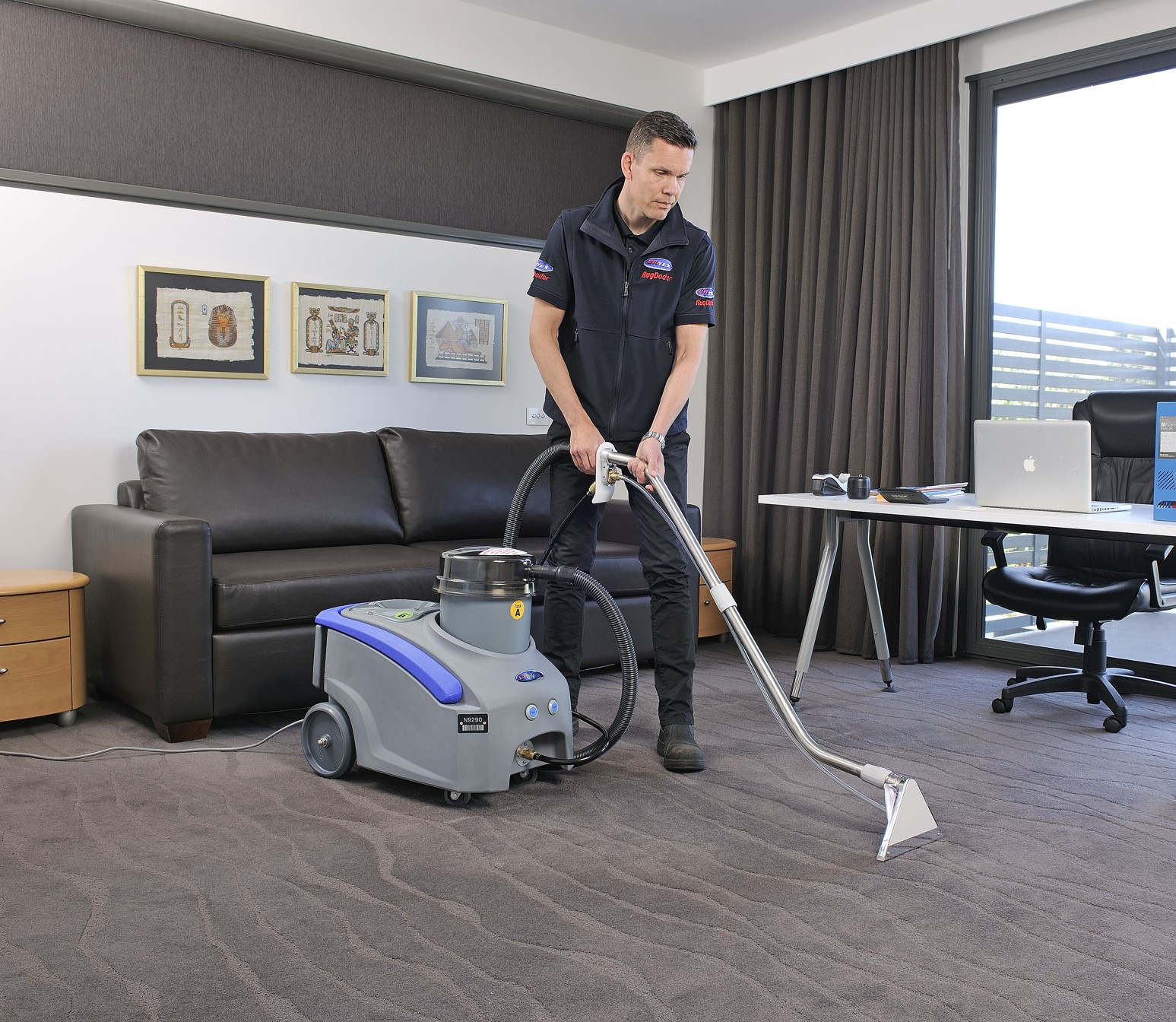 For cleaning carpets to a professional standard